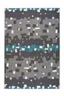 Vloerkleed-Crown-Zwart-Wit