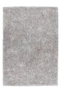 Handgemaakt-hoogpolig-vloerkleed-Brasil-Zilver-Wit